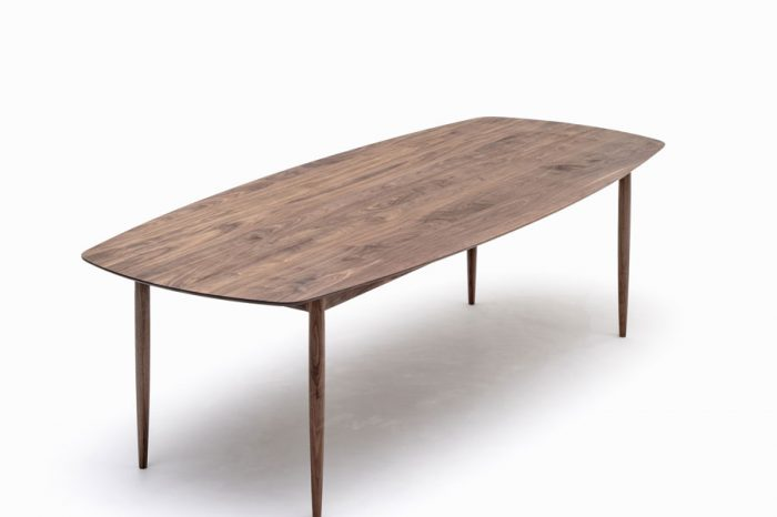 KUNST Dining table, Walnut (oiled), w2600