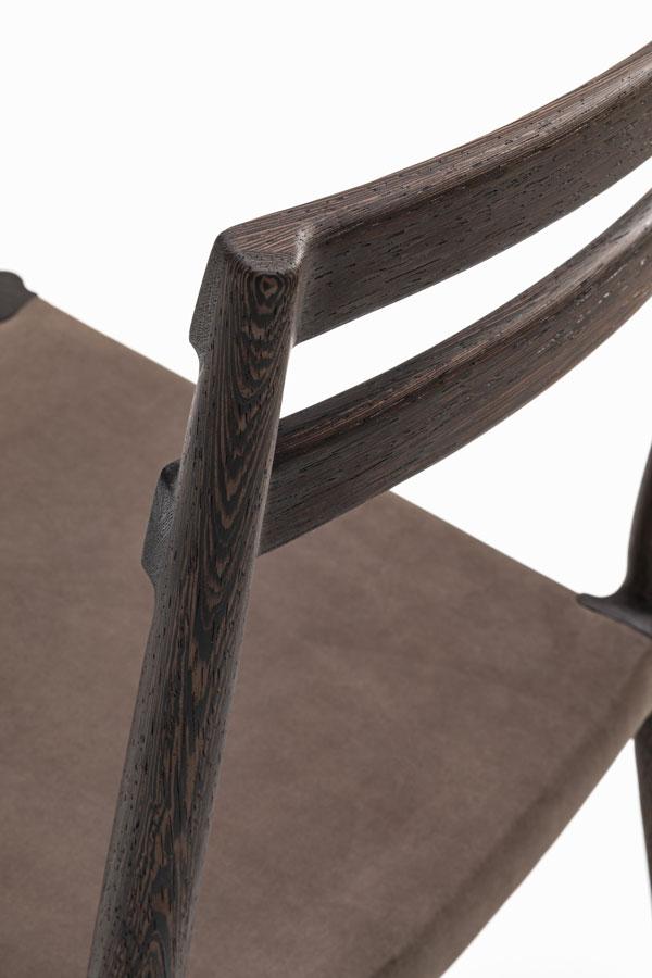 KUNST Cervo , Wenge (oiled), Dune leather
