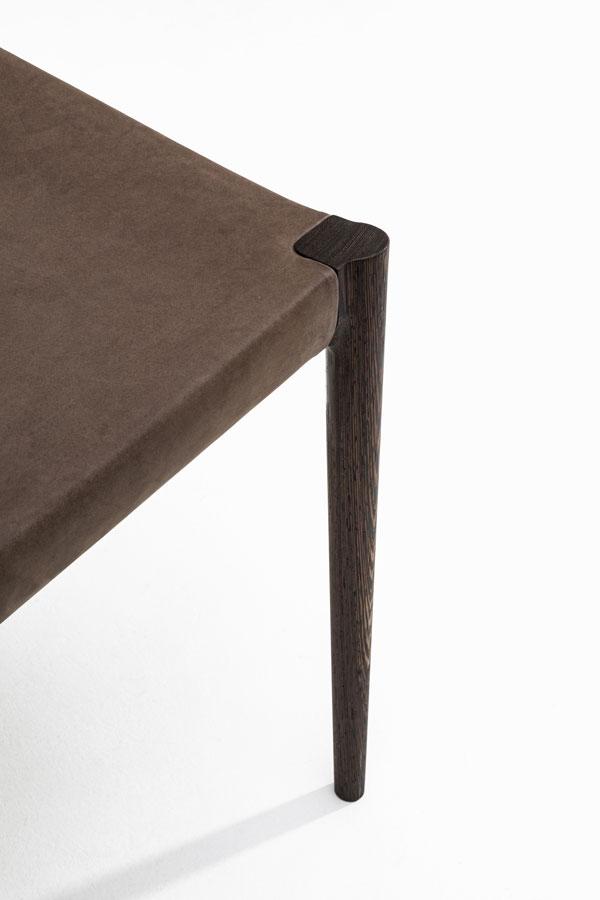 KUNST Cervo, Wenge (oiled), Dune leather